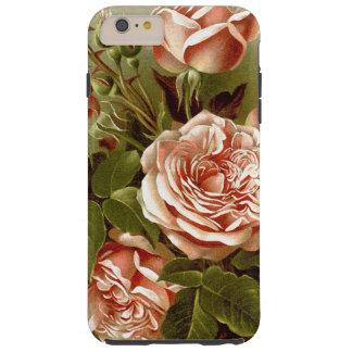 Botanisk kål steg blom- blommor tough iPhone 6 plus fodral
