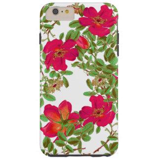 Botanisk kål steg blom- blommor tough iPhone 6 plus skal