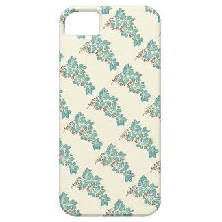 Botanisk murgröna för höstsäsong och bärmönster iPhone 5 Case-Mate skydd