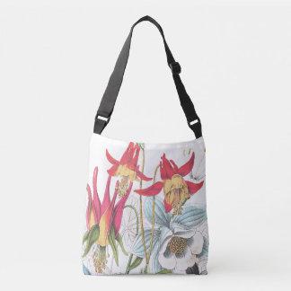 Botanisk toto för trädgård för Columbine Axelväska