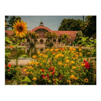 Botanisk trädgårdbalboaen parkerar vykort