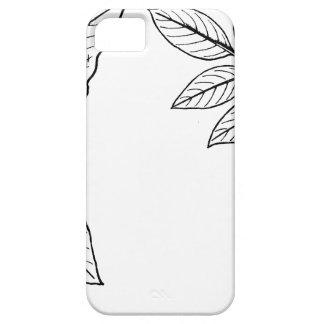 Botaniska löv för vintage iPhone 5 skydd