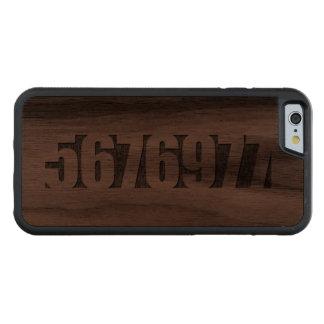 Boten - 5676977 - 1997 carved valnöt iPhone 6 bumper skal