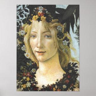 Botticelli för floror (specificera av Primavera), Poster