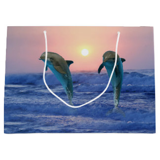Bottlenosedelfin på soluppgången