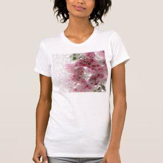 Bougainvillea med struktur t-shirt