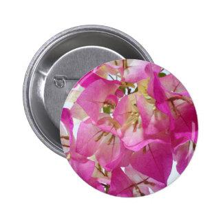 """Bougainvillea """"överrrakning. """", standard knapp rund 5.7 cm"""