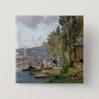 Bougival 1873 standard kanpp fyrkantig 5.1 cm