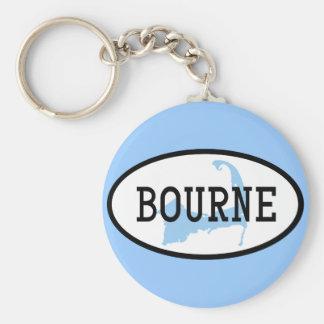 Bourne MORSAuddtorsk Keychain Rund Nyckelring