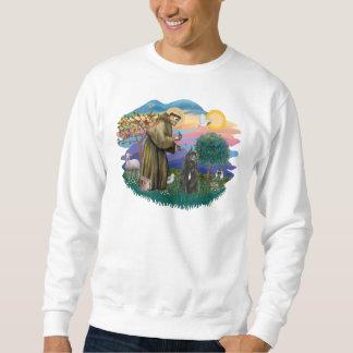 Bouvier des Flandres (svarten) Sweatshirt