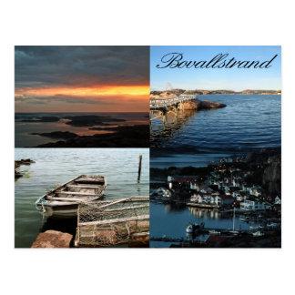 Bovallstrand 4 avbildar vykortet vykort