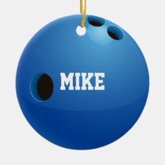 Bowla | sportgåvor julgransprydnad keramik