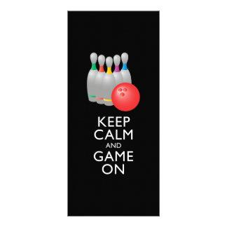 Bowling för för BEHÅLLALUGN OCH LEK PÅ - Ställkort