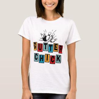 Bowlingavloppsrännachick Tshirts