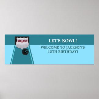 Bowlingfödelsedagsfestbaner