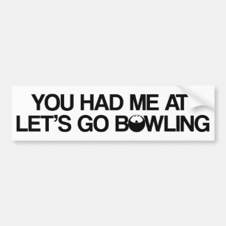 Bowlingprodukter Bildekal