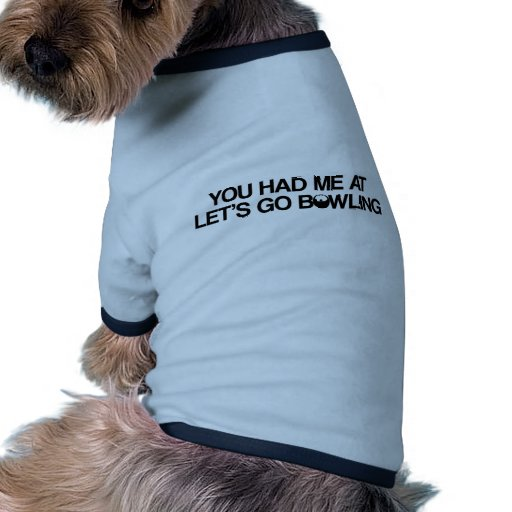 Bowlingprodukter Hund Kläder