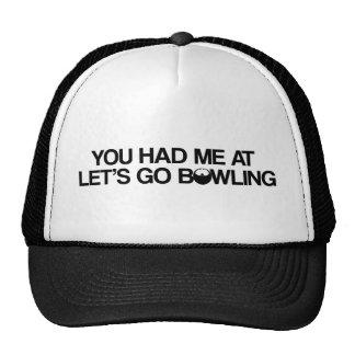 Bowlingprodukter Trucker Keps