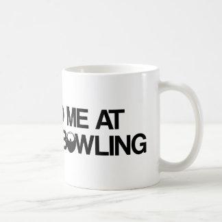 Bowlingprodukter Vit Mugg