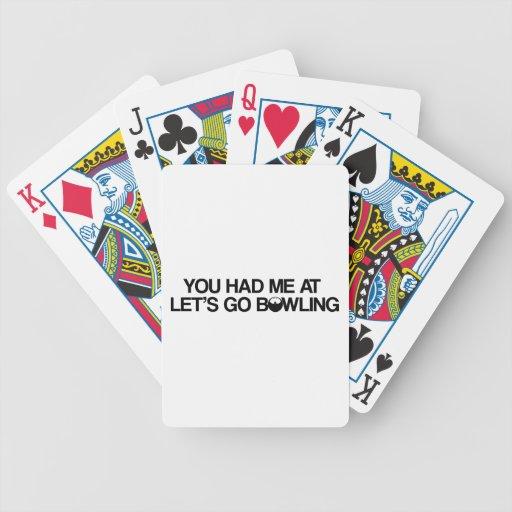 Bowlingprodukter Spelkort