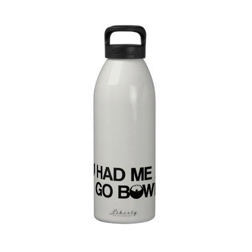 Bowlingprodukter Dryckflaskor