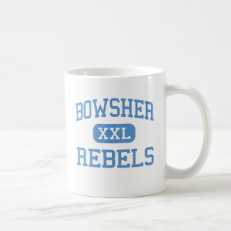 Bowsher - rebeller - högstadium - Toledo Ohio Kaffemugg