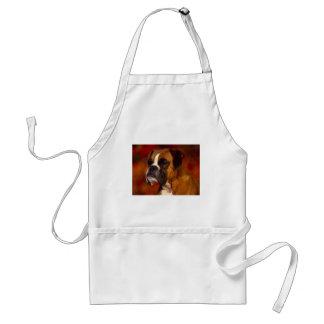 Boxarehund Förkläden