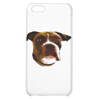 Boxarehundhuvud 3 de MUSEUMZazzle gåvorna iPhone 5C Mobil Skal