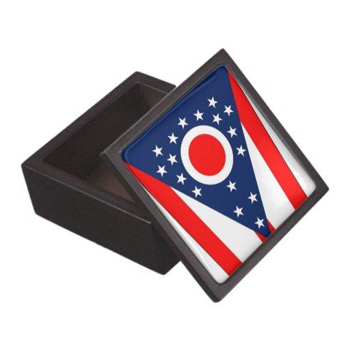 Boxas den högvärdiga gåvan för den Ohio statlig fl Premie Smyckeskrin