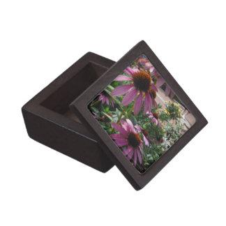 Boxas den högvärdiga gåvan för echinaceaen premie presentförpackningar