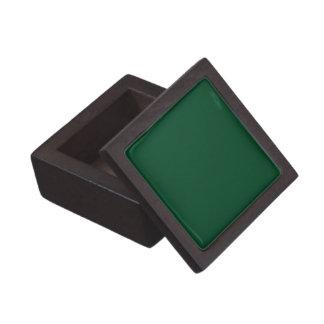 Boxas den högvärdiga gåvan för fast evergreengrönt premie minnesaskar