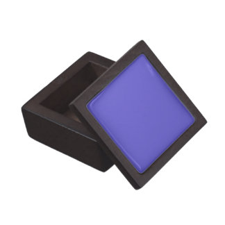 Boxas den högvärdiga gåvan för fasta blåklintblått premie smyckeskrin