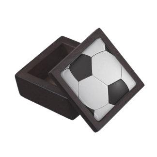 Boxas den högvärdiga gåvan för fotbollfotboll premie prydnadslåda