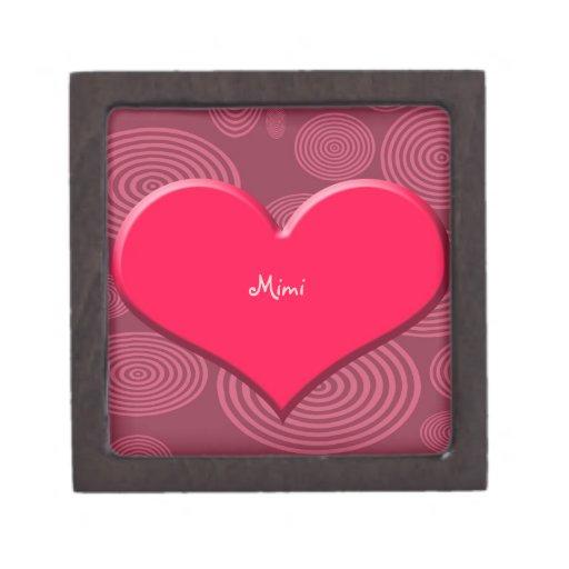 boxas den högvärdiga gåvan för hjärta premie presentförpackning