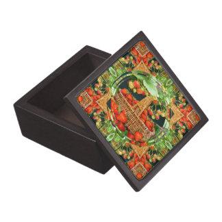 Boxas den högvärdiga gåvan för jordgubbedesign~ premie presentförpackningar