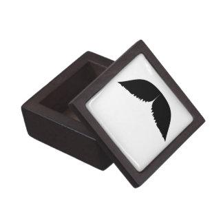 Boxas den högvärdiga gåvan för mustaschen premie prydnadslådor