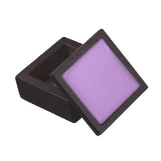 Boxas den purpurfärgade högvärdiga gåvan för fast premie smyckeskrin