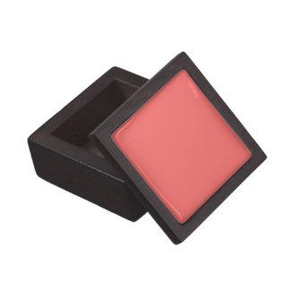 Boxas den rosa högvärdiga gåvan för den fasta laxe premie smyckeskrin