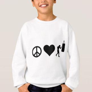 Boxas för fredkärlek t-shirt