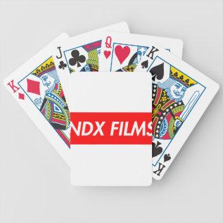 boxas logotypen spelkort