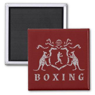 Boxas sköldmagneten magnet