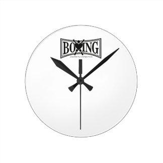 Boxning-stil Rund Klocka