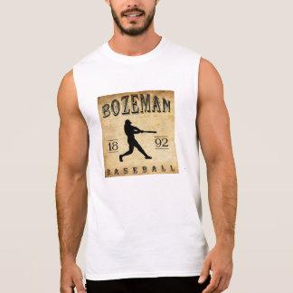 Bozeman Montana baseball 1892 Ärmlös Tröja