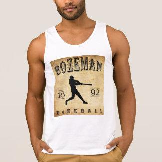 Bozeman Montana baseball 1892 Tank Top