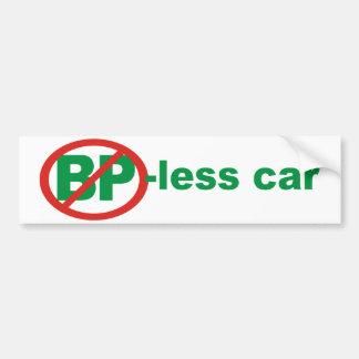 BP frigör bilen Bildekal