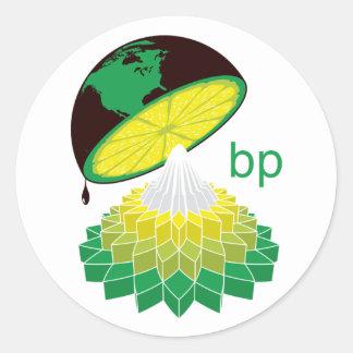 BP logotyp Veresion 1 (klistermärken) Runt Klistermärke