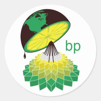 BP logotypversion 2 (klistermärken) Runt Klistermärke