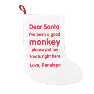 Bra apajulstrumpa för Penelope Liten Julstrumpa