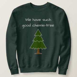 Bra Chemis-träd vits Långärmad Tröja