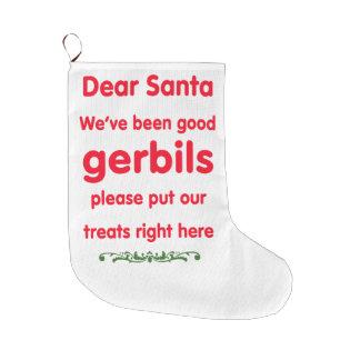 bra gerbils stor julstrumpa